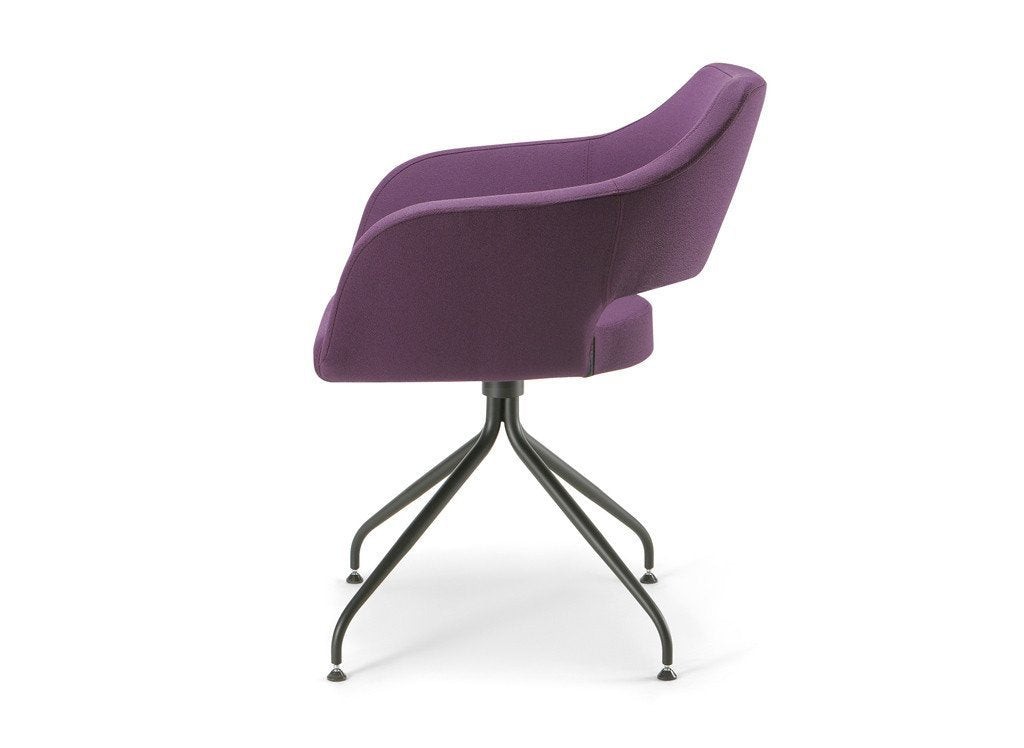 Manu 04 Armchair c/w Spider Base-Torre-Contract Furniture Store
