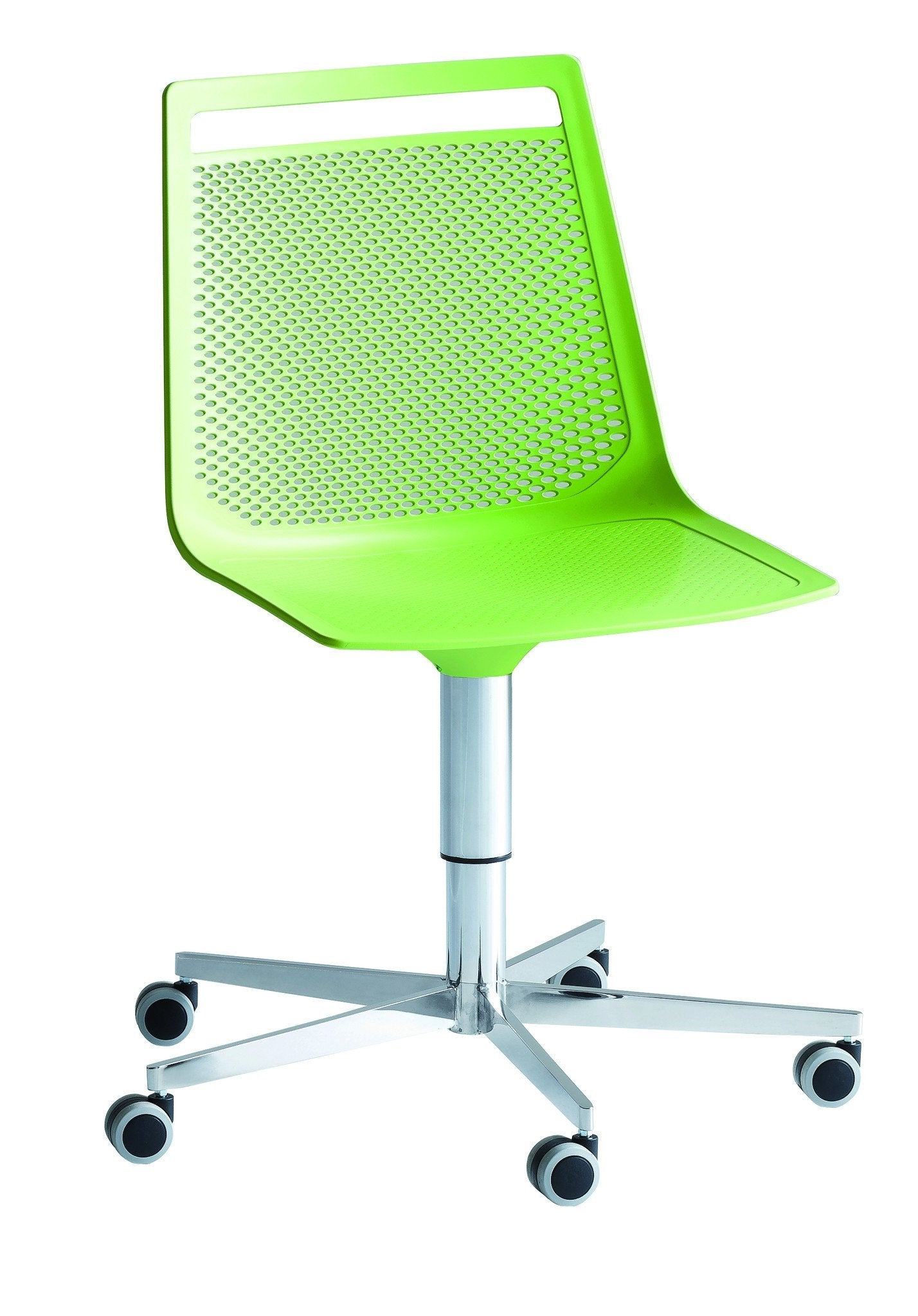 Akami Side Chair c/w Wheels-Gaber-Contract Furniture Store