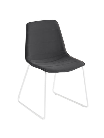Alhambra Side Chair c/w Sled Legs-Gaber-Contract Furniture Store