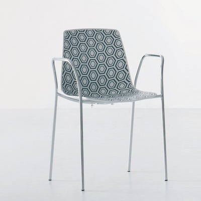 Alhambra Armchair c/w Metal Legs-Gaber-Contract Furniture Store