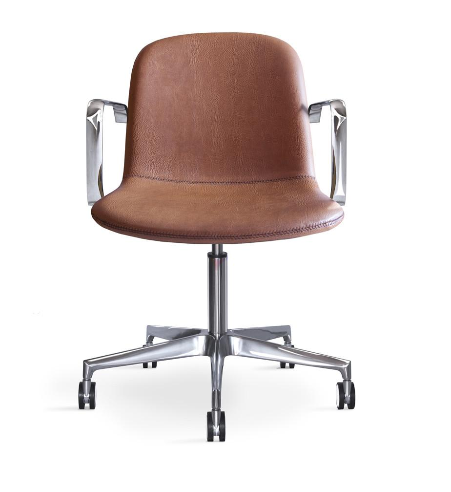 Bacco Armchair c/w Wheels-Job's-Contract Furniture Store