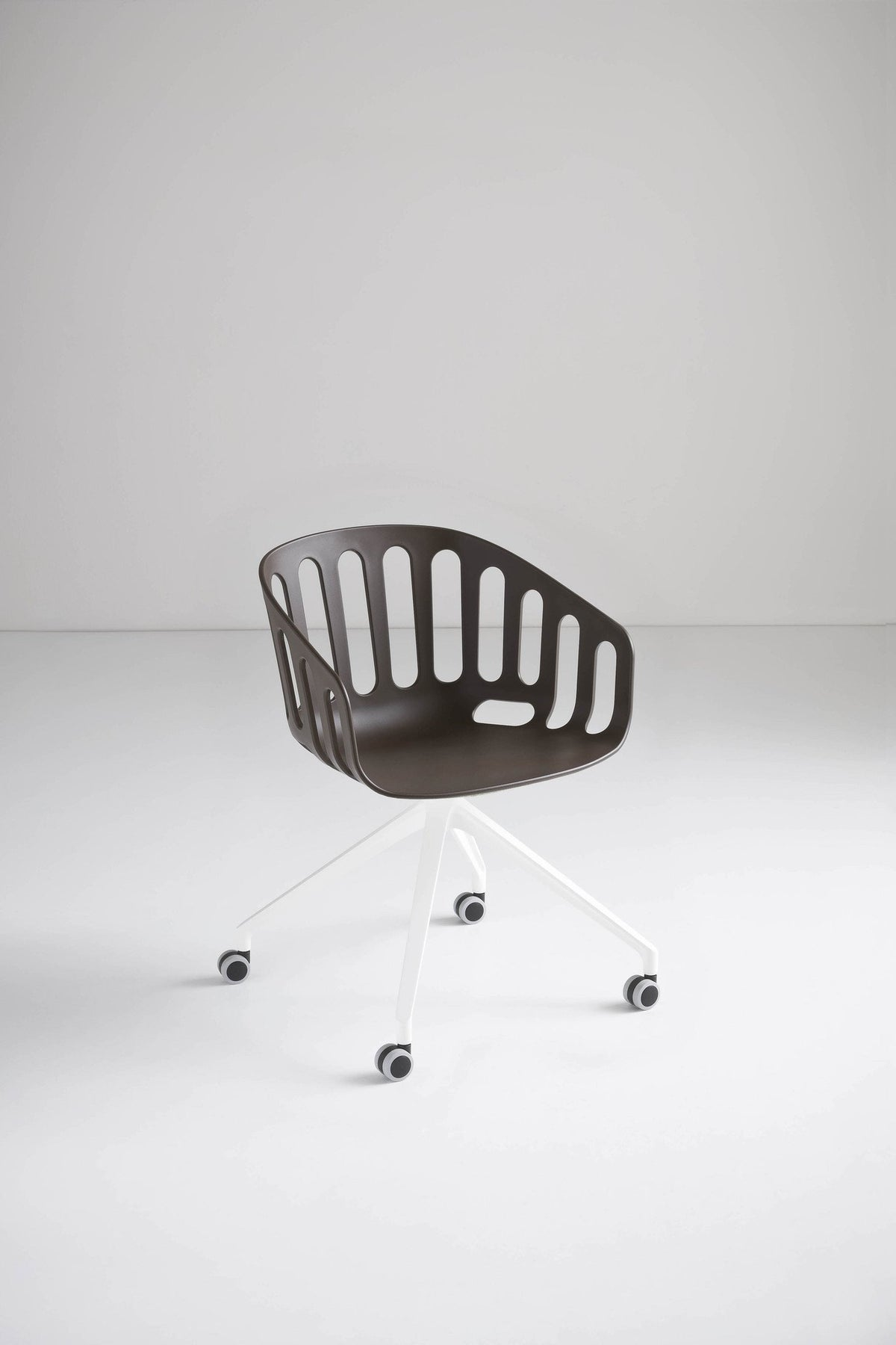 Basket Armchair c/w Spider Wheels-Gaber-Contract Furniture Store