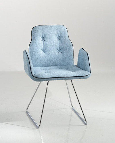 Betibú Armchair c/w Sled Legs-Chairs & More-Contract Furniture Store