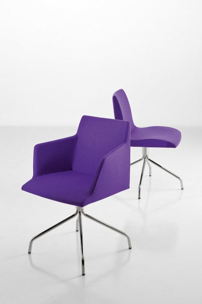 Bloom Side Chair c/w Spider Base-Chairs & More-Contract Furniture Store