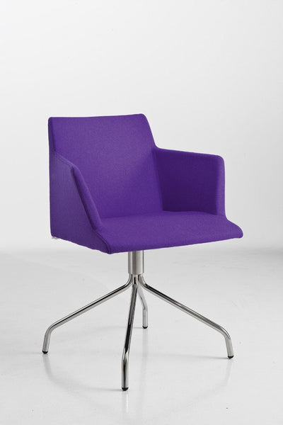 Bloom Armchair c/w Spider Base-Chairs & More-Contract Furniture Store