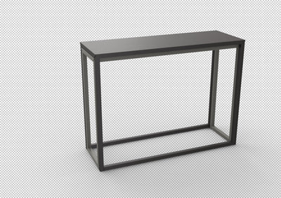 Burga Extending Console Table-Matière Grise-Contract Furniture Store