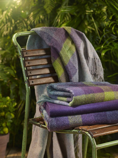 Blackcurrant Throw-Bronte by Moon-Contract Furniture Store
