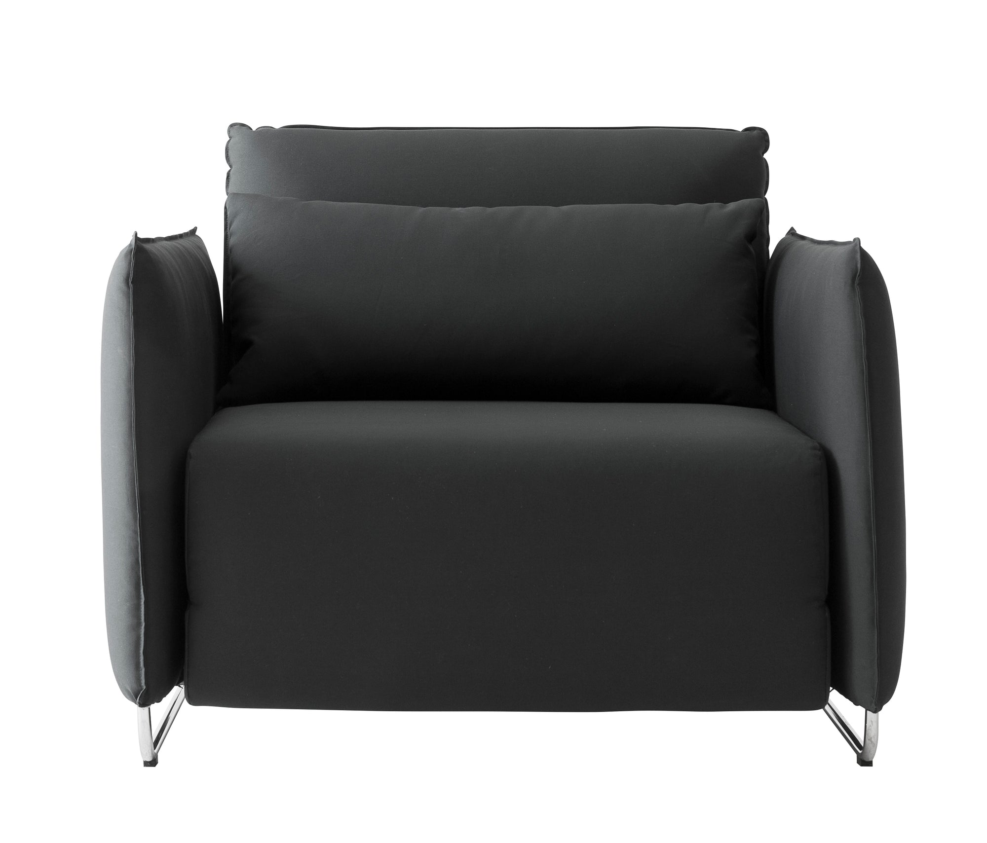Cord Single Sofa Bed-Softline-Contract Furniture Store