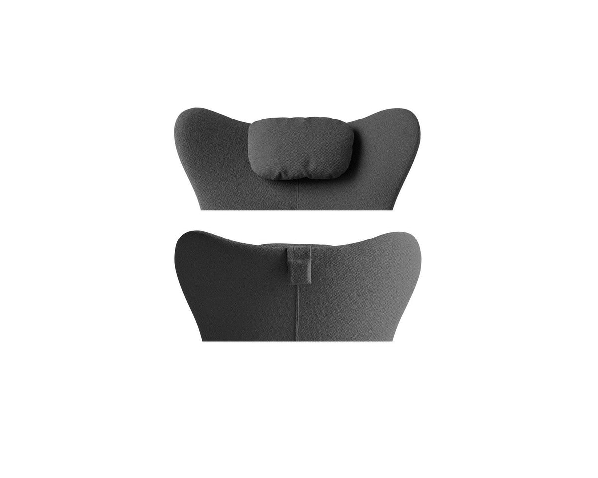 Lazy Wing Lounge Chair c/w Sled Legs-Calligaris-Contract Furniture Store