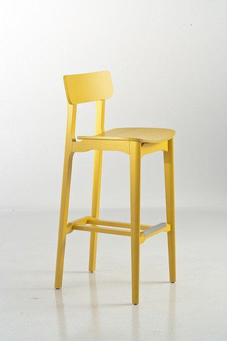 Cacao High Stool-Chairs & More-Contract Furniture Store