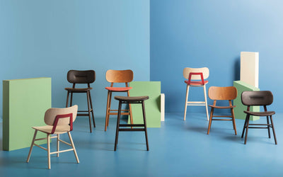 Vicky High Stool-Cantarutti-Contract Furniture Store