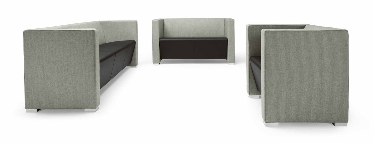 Giano+ 3S Low Back Modular Sofa Unit-Metalmobil-Contract Furniture Store