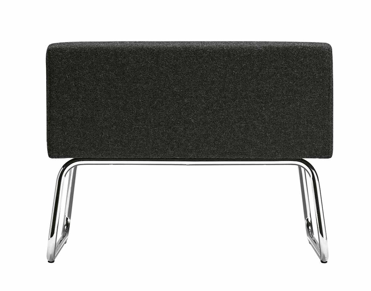 Abaco+ Small Pouf-Metalmobil-Contract Furniture Store
