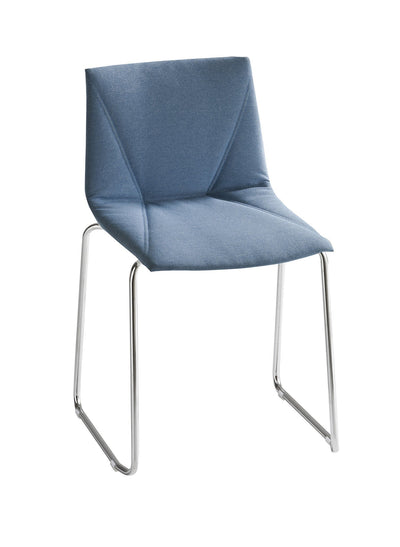 Colorfive Side Chair c/w Sled Legs-Gaber-Contract Furniture Store