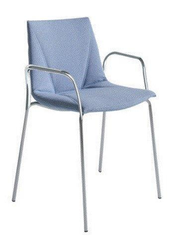 Colorfive Armchair c/w Metal Legs-Gaber-Contract Furniture Store