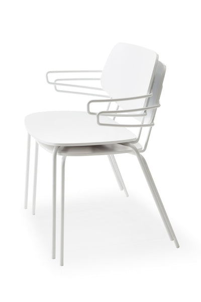 Doll Steel 560 Side Chair-Billiani-Contract Furniture Store