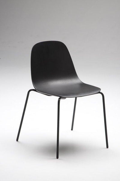 Babah Side Chair c/w Metal Legs-Chairs & More-Contract Furniture Store