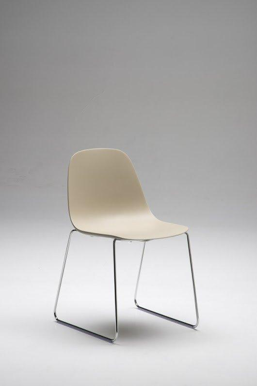 Babah Side Chair c/w Sled Legs-Chairs & More-Contract Furniture Store