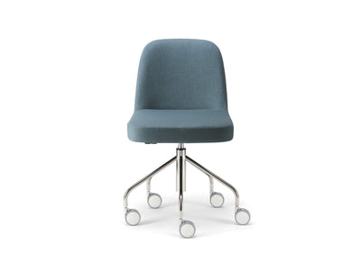 Da Vinci 01 Side Chair c/w Wheels 2-Torre-Contract Furniture Store