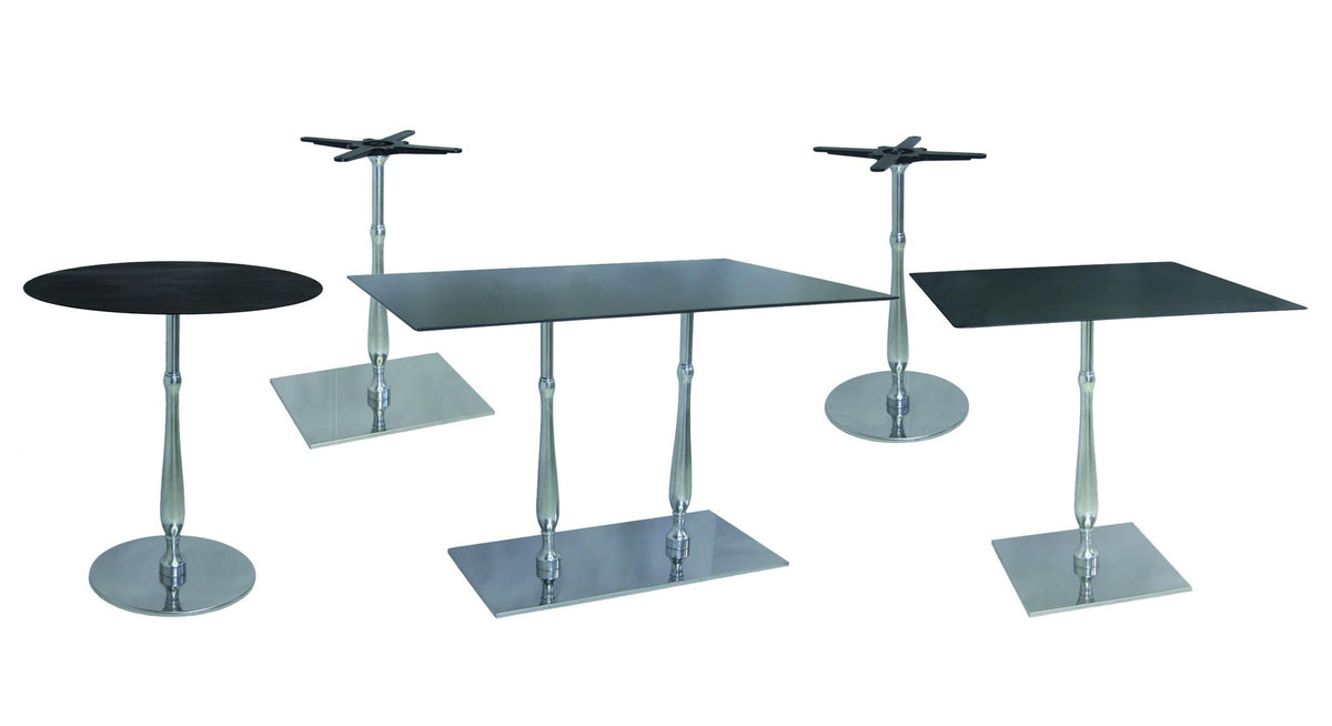 Color Lib Large Square Dining Base-Vela-Contract Furniture Store