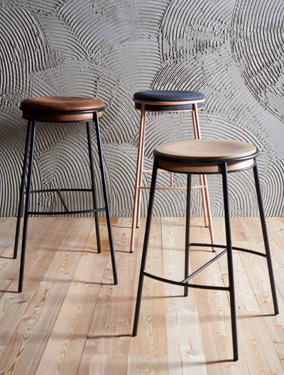 Eman High Stool-Laco-Contract Furniture Store