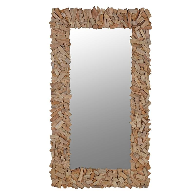 Driftwood Rectangular Mirror-Coach House-Contract Furniture Store