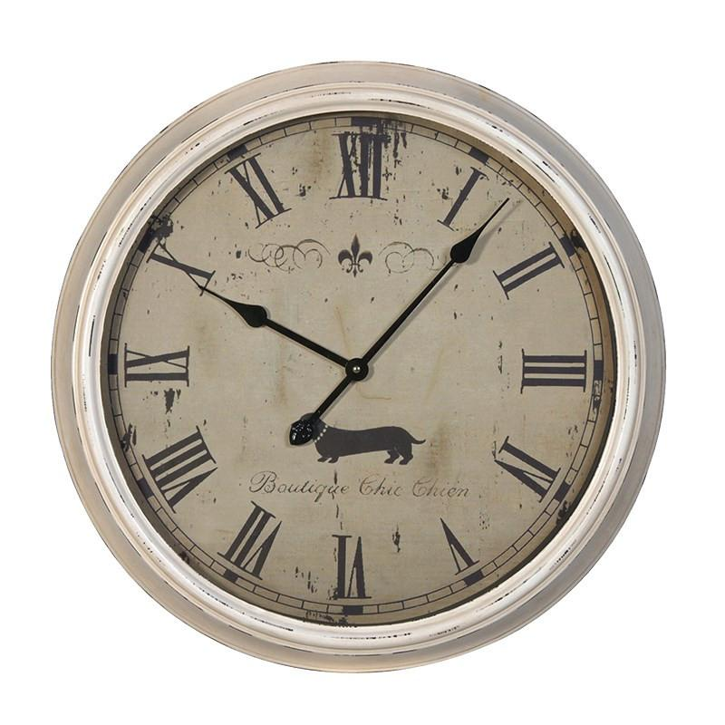 Distressed BCC Wall Clock-Coach House-Contract Furniture Store