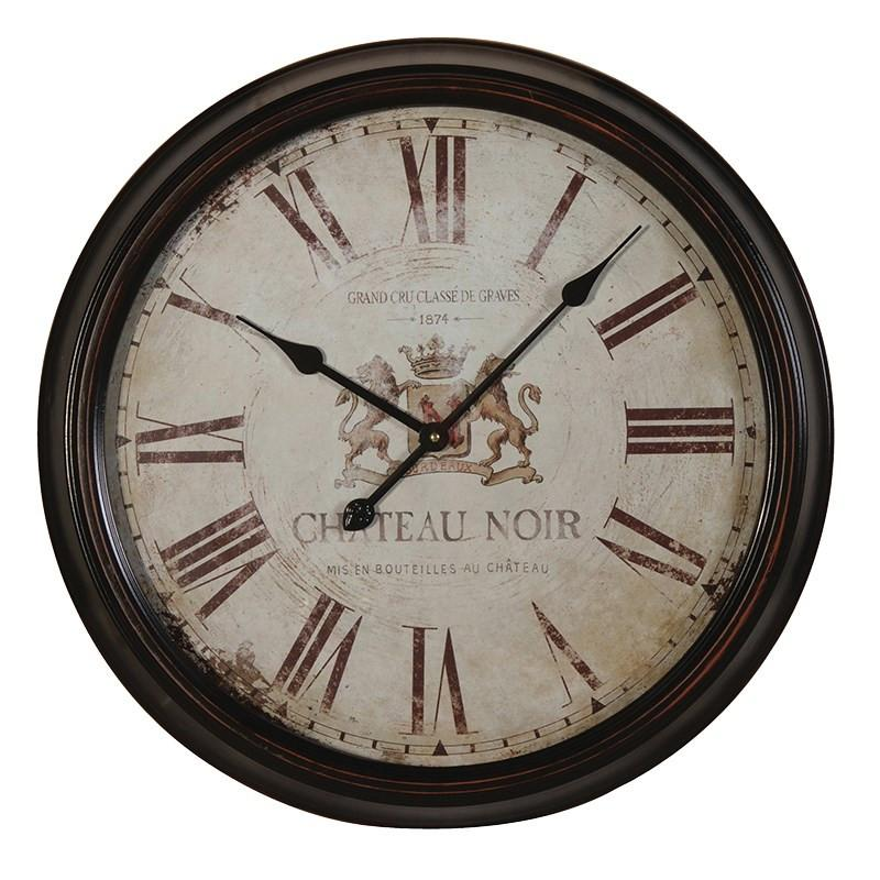 Distressed CN Wall Clock-Coach House-Contract Furniture Store