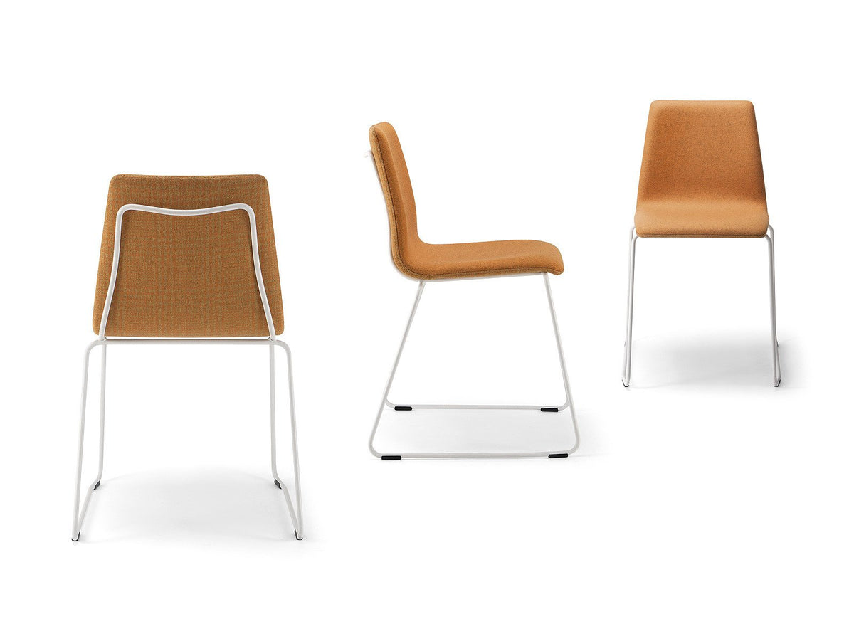Fast Side Chair c/w Sled Legs-Torre-Contract Furniture Store
