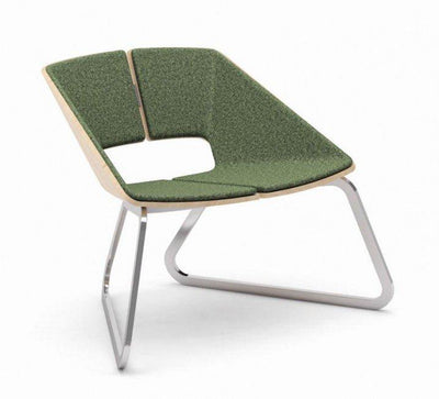 Hug Lounge Chair c/w Sled Base-Infiniti-Contract Furniture Store