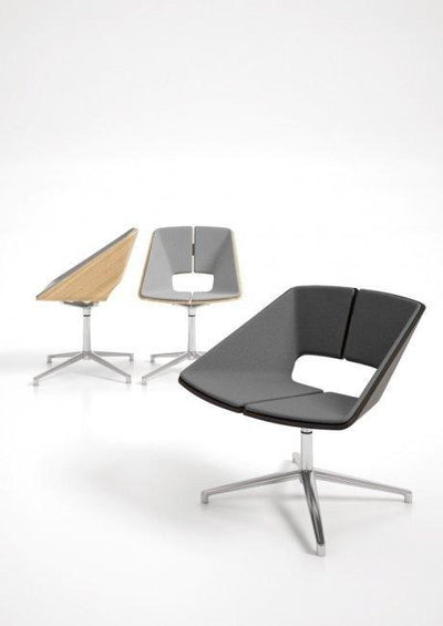 Hug Lounge Chair c/w Spider Base-Infiniti-Contract Furniture Store