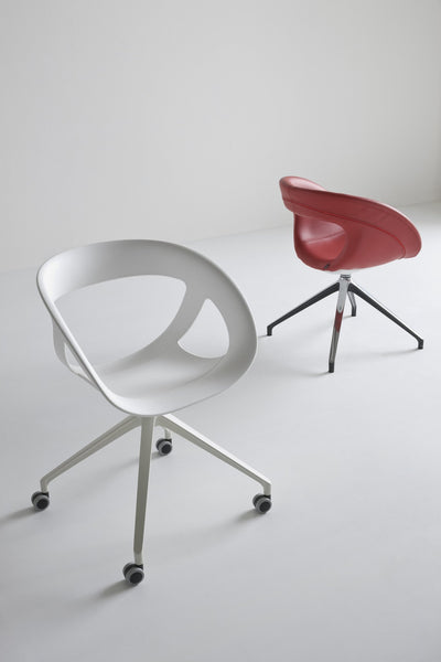 Moema Side Chair c/w Spider 2 Base-Gaber-Contract Furniture Store
