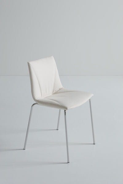 Colorfive Side Chair c/w Metal Legs-Gaber-Contract Furniture Store