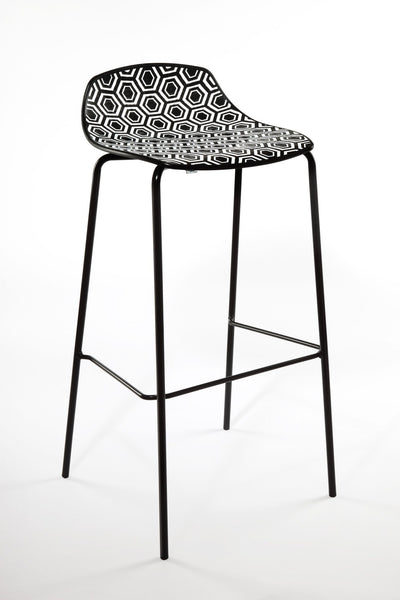 Alhambra High Stool c/w Metal Legs-Gaber-Contract Furniture Store