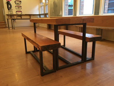 Handmade Industrial Bench-Spitnsawdust-Contract Furniture Store