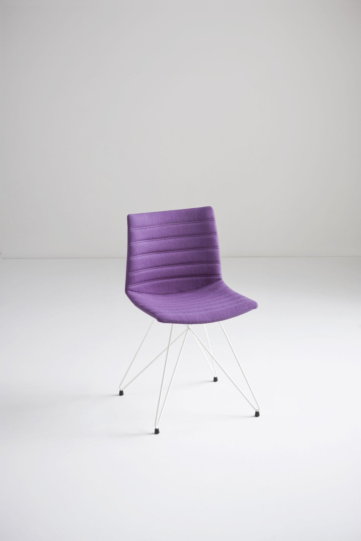 Kanvas Full Side Chair c/w Eiffel Base-Gaber-Contract Furniture Store