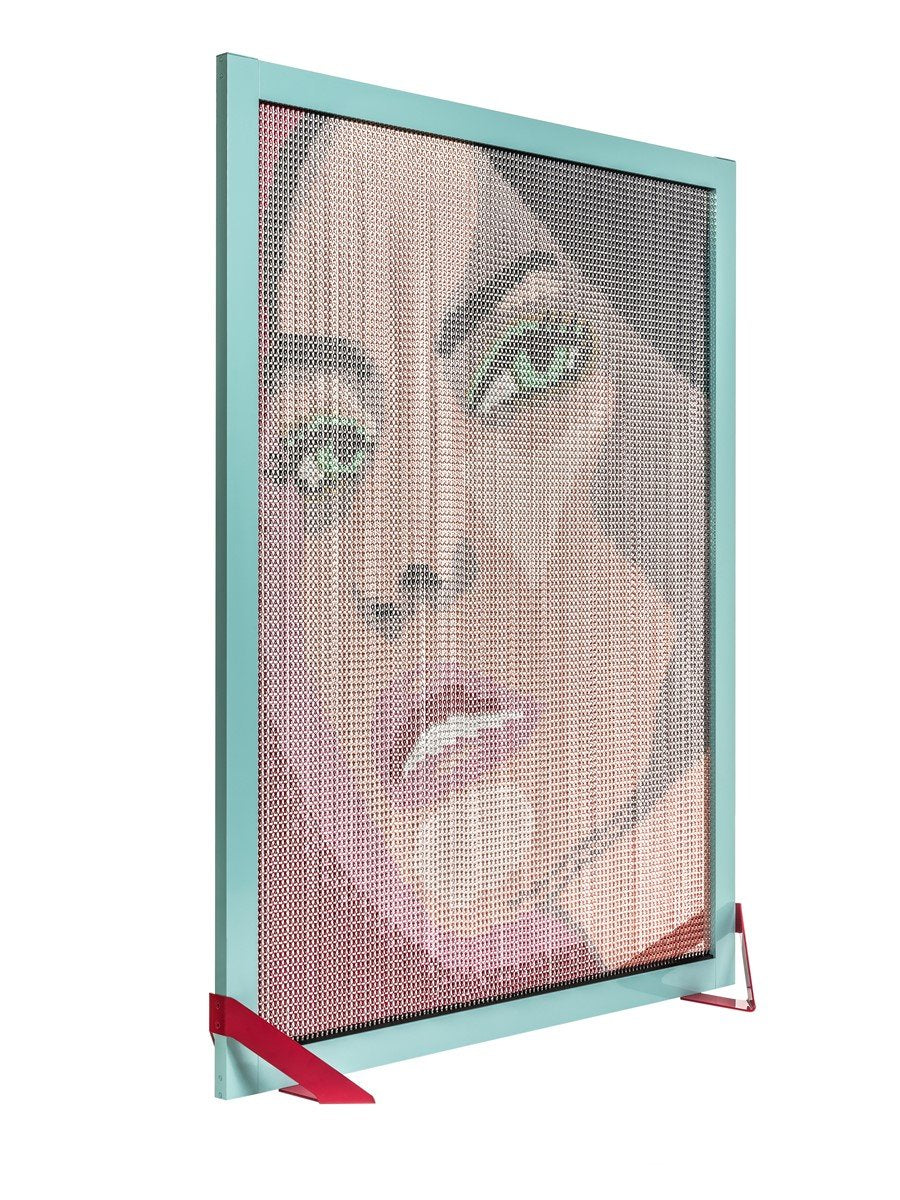 Barcelona Screen Divider Girl Face-Kriskadecor-Contract Furniture Store