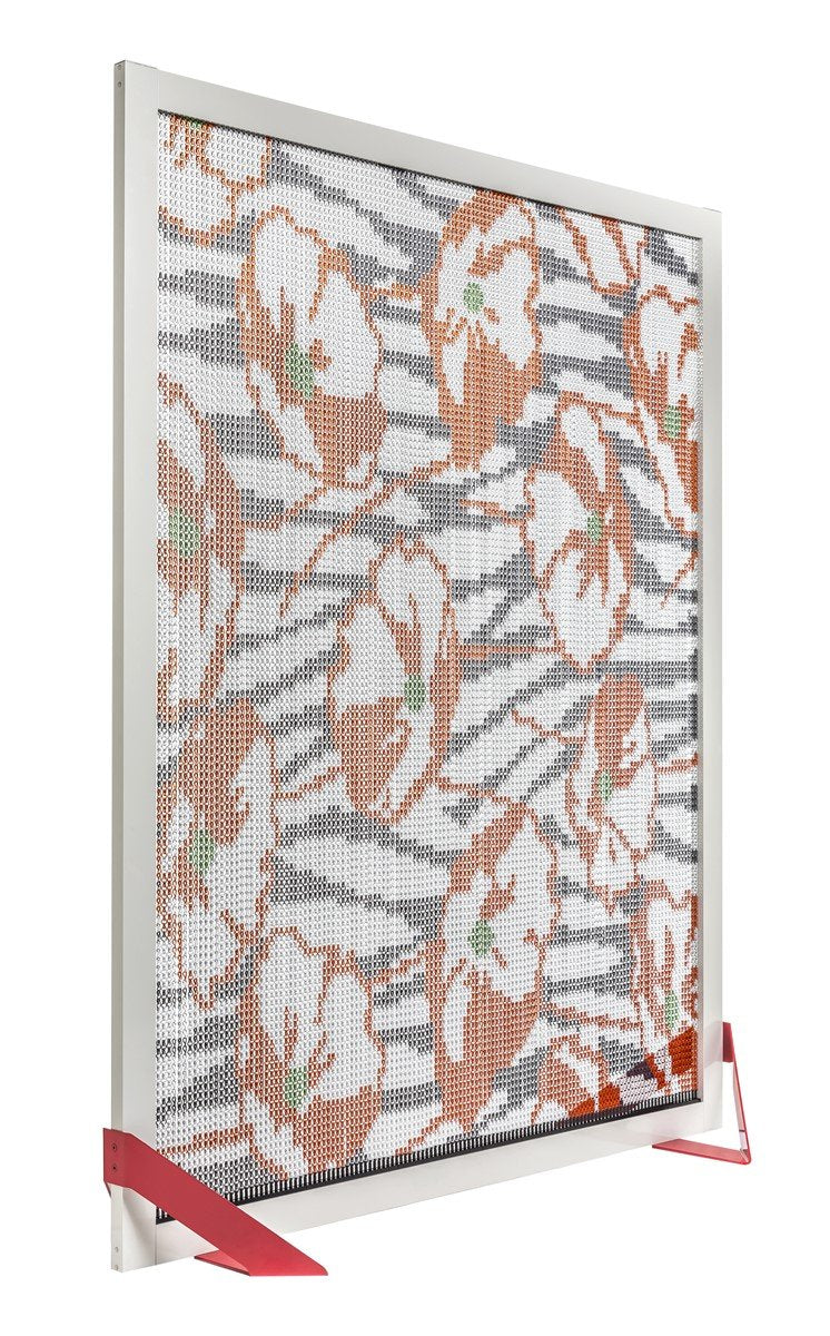 Barcelona Screen Divider Flowers-Kriskadecor-Contract Furniture Store