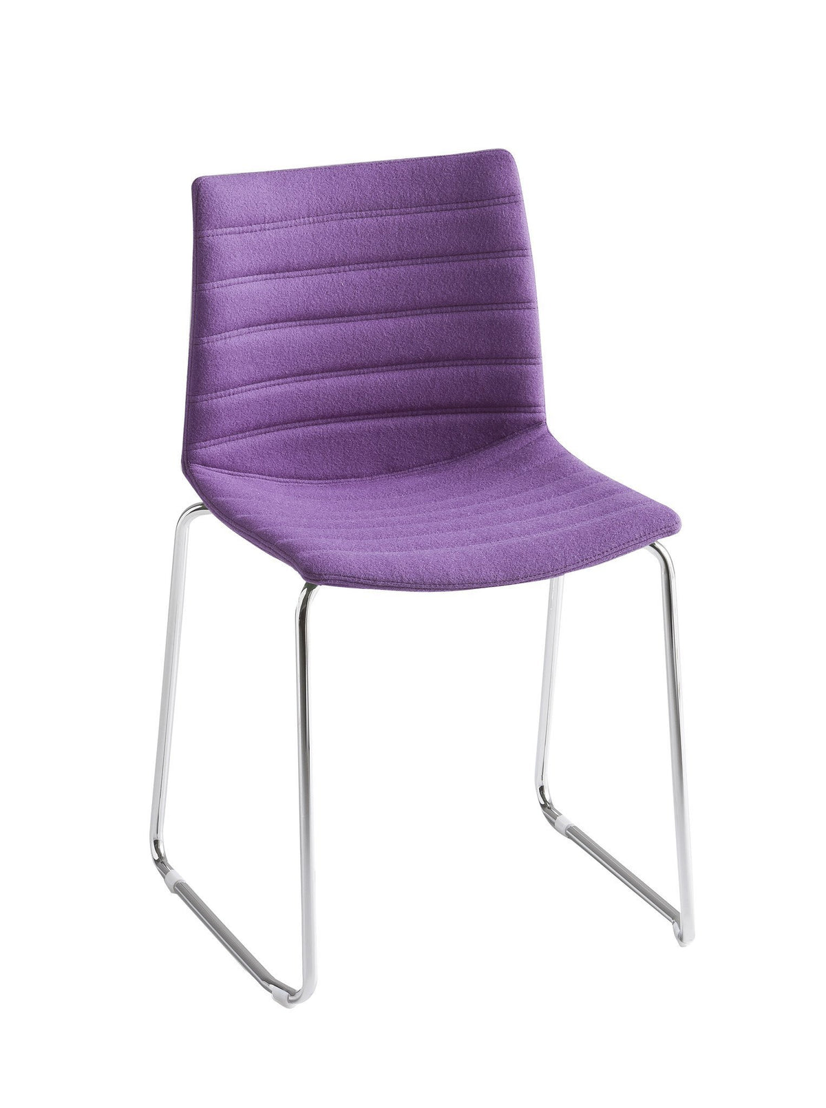 Kanvas Full Side Chair c/w Sled Legs-Gaber-Contract Furniture Store