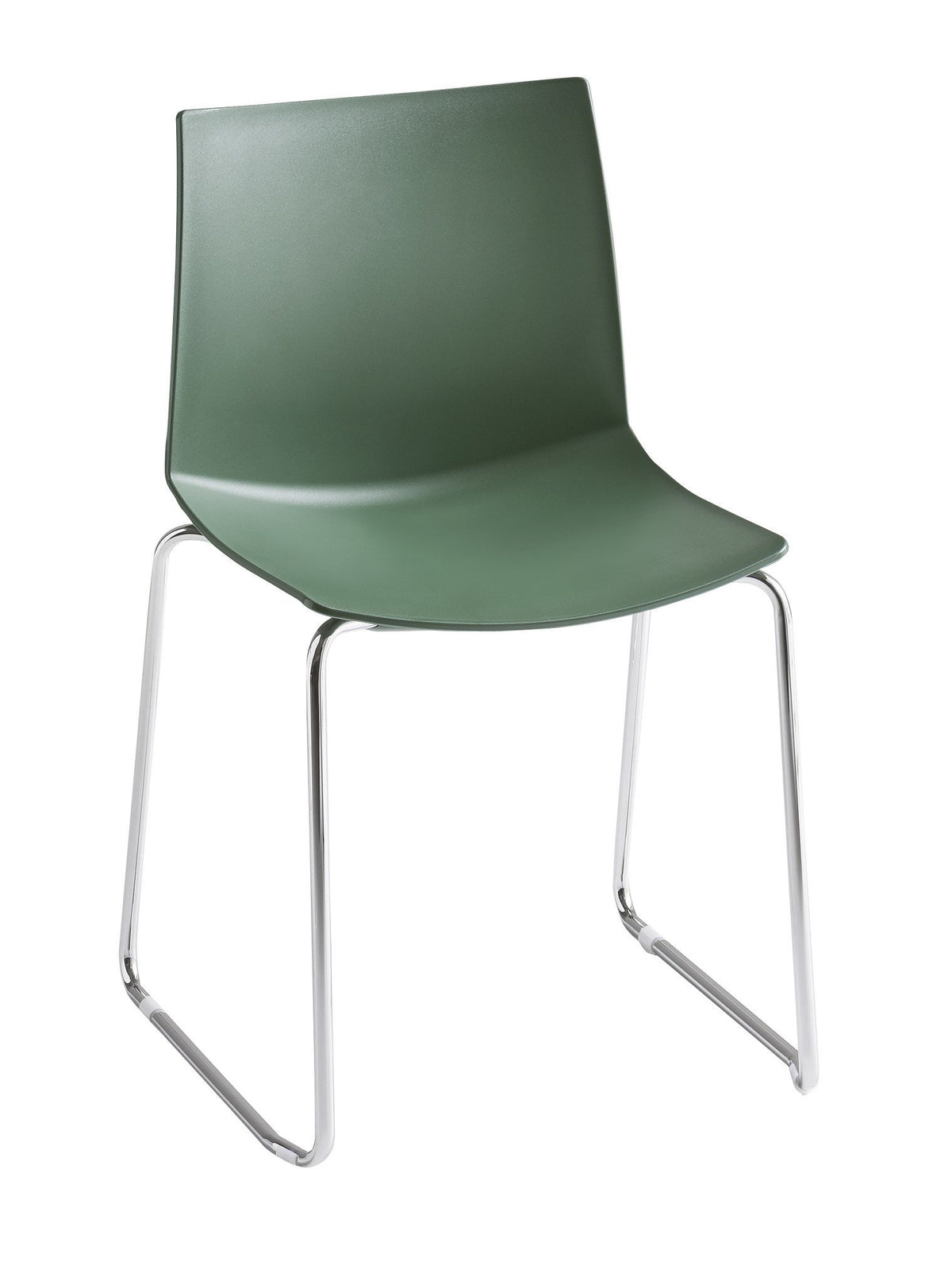 Kanvas Side Chair c/w Sled Legs-Gaber-Contract Furniture Store