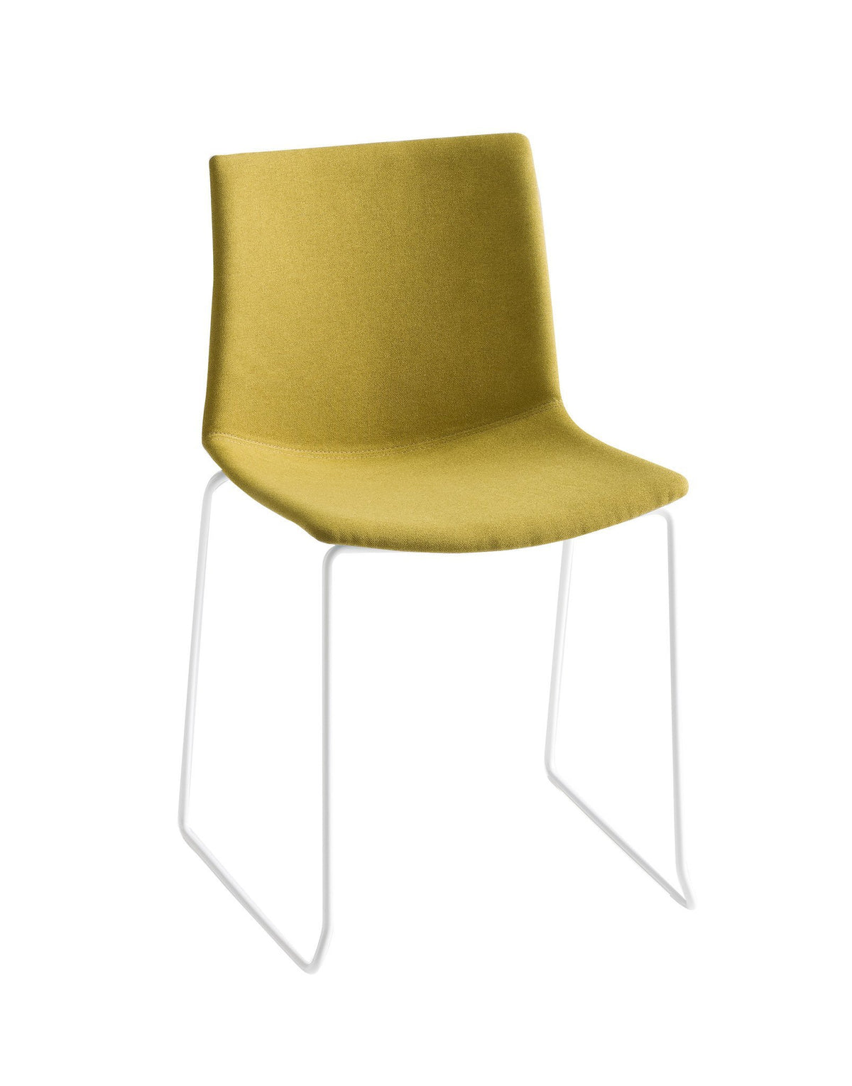 Kanvas Front Side Chair c/w Sled Legs-Gaber-Contract Furniture Store