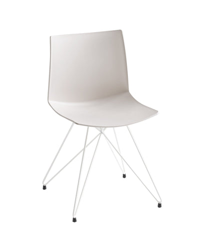 Kanvas Side Chair c/w Eiffel Base-Gaber-Contract Furniture Store