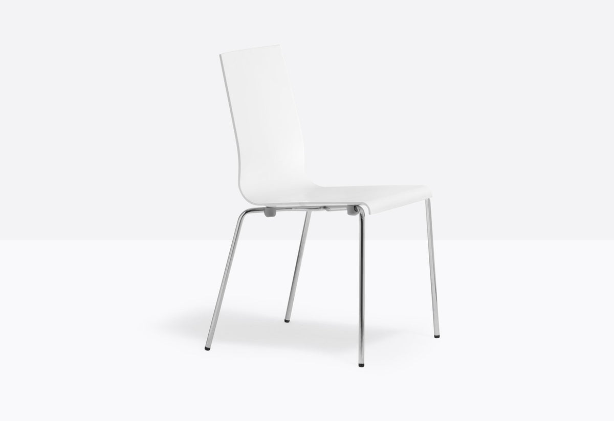 Kuadra 1101/1151 Side Chair-Pedrali-Contract Furniture Store