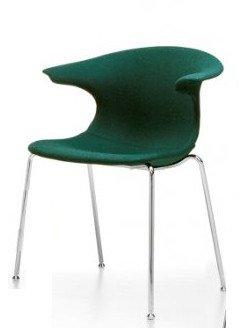 Loop Side Chair c/w Metal Legs-Infiniti-Contract Furniture Store