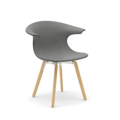 Loop Side Chair c/w Wood Legs-Infiniti-Contract Furniture Store