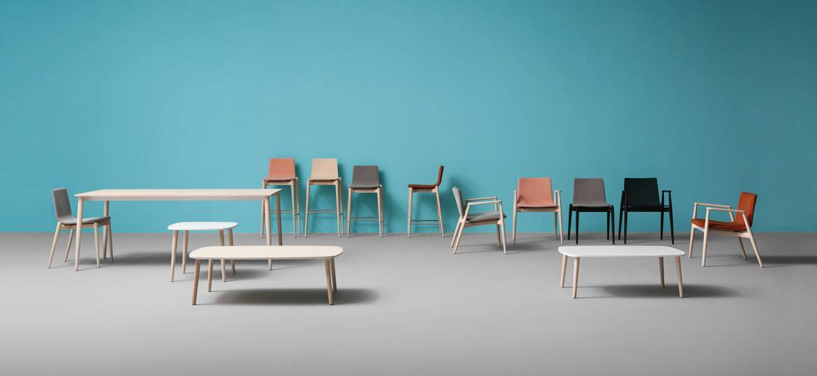 Malmo 390 Side Chair-Pedrali-Contract Furniture Store