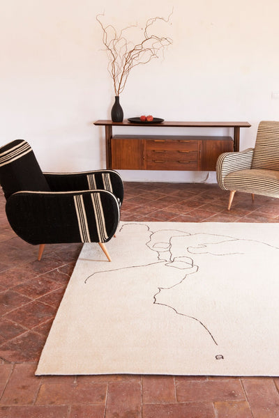 Chillida Mano 1993 Rug-Nanimarquina-Contract Furniture Store