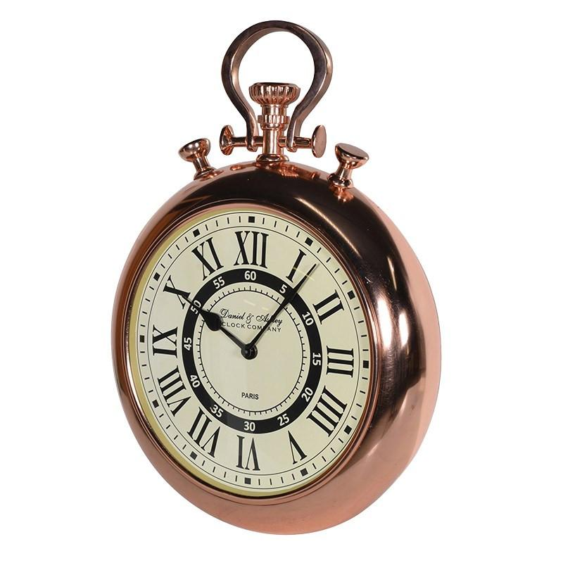 Copper DA Wall Clock-Coach House-Contract Furniture Store