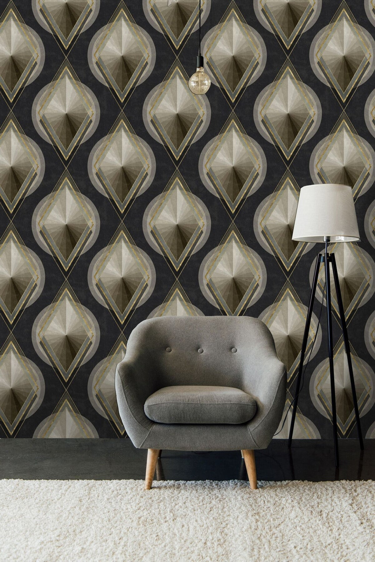 Metropolis Wallpaper-Mind The Gap-Contract Furniture Store
