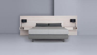 Miut Panel & Box Double Bed-Zeitraum-Contract Furniture Store